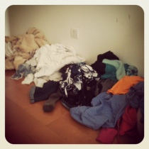 our dirty laundry